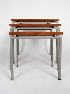 set of nesting tables - a midcentury classic