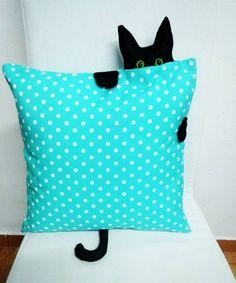 Jastuci I Jastuci Cat Crafts, Diy And Crafts, Crafts For Kids, Arts And Crafts, Easter Pillows, Kids Pillows, Throw Pillows, Fabric Crafts, Sewing Crafts