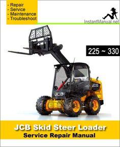 download jcb 160 170 170hf 180t 180thf skid steer loader service rh pinterest co uk JCB Robot Skid Steer JCB New Skid Steer