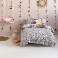 Hiccups Happy Meadow Double Quilt Cover Set