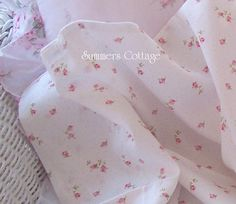 Pink Rosebud Sheets