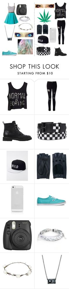 """Tumblr Girl to Bad Girl"" by sidemenfangirlforlife ❤ liked on Polyvore featuring Miss Selfridge, Giuseppe Zanotti, Kill Brand, Zanellato, Vans, Fujifilm, West Coast Jewelry, Lipsy and C&D Visionary"