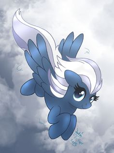 MLP FIM - New Background Pony Night Glider by Joakaha.deviantart.com on @DeviantArt