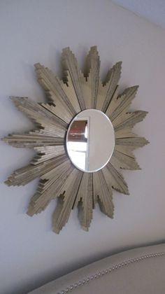 diy sunburst mirror via