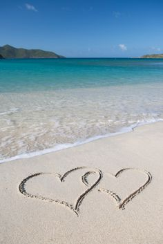 Happy Valentine's Day! If you can't make it to the #beach, take #heart