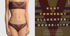 Kate Imbach's Matchbook.hu cleverly matches classic book covers with swimsuits -- and the results are awesome.