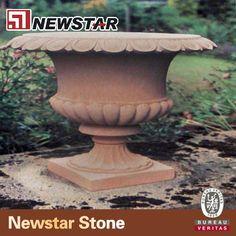 Stone baskets & stone flower pot made by Newstar stone  Email:king@newstarchina.com Web: www.stone-export.com