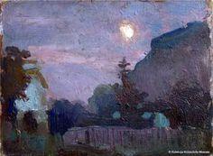 Jan Stanislawski, Lunar night / Księżycowy wieczór on ArtStack #jan-stanislawski #art