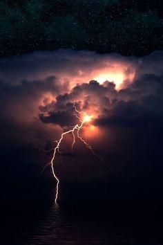 Lightning #lightning #nature #power #beautiful #storm