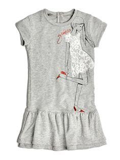 Sukienka z Nadrukiem Dziewczynki | GUESS.eu