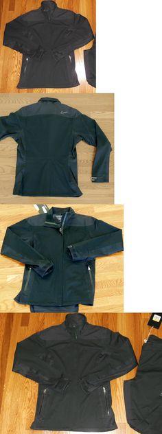 Coats and Jackets 181145: Nwt! $300 Women S ~Nike Golf~ Storm Fit Elite Black *Jacket* ~Waterproof~ Medium -> BUY IT NOW ONLY: $69.99 on eBay!