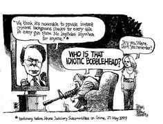 Political Cartoons About Gun Issues