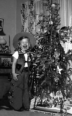 Christmas 1949. Now where's my pony?