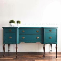 Furniture : Repurposed Furniture Ideas For Better House Teal Furniture, Painted Bedroom Furniture, Refurbished Furniture, Repurposed Furniture, Shabby Chic Furniture, Furniture Making, Furniture Makeover, Antique Furniture, Home Furniture
