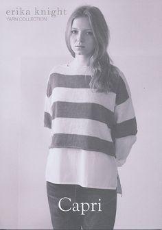 Capri in Erika Knight Studio Linen | Erika Knight Knitting Patterns | Knitting Patterns | Deramores