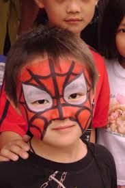 easy kids make up Boy Face, Child Face, Face Painting For Boys, Body Painting, Kids Makeup, Face Makeup, Make Up Art, Business For Kids, Art Fair