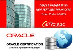 we are your guides to a passing grade for #Oracle #Database 11g: #New Features for 9i #OCPs Exam #Code- 1z0-055 visit@:https://www.troytec.com/1z0-055-exams.html