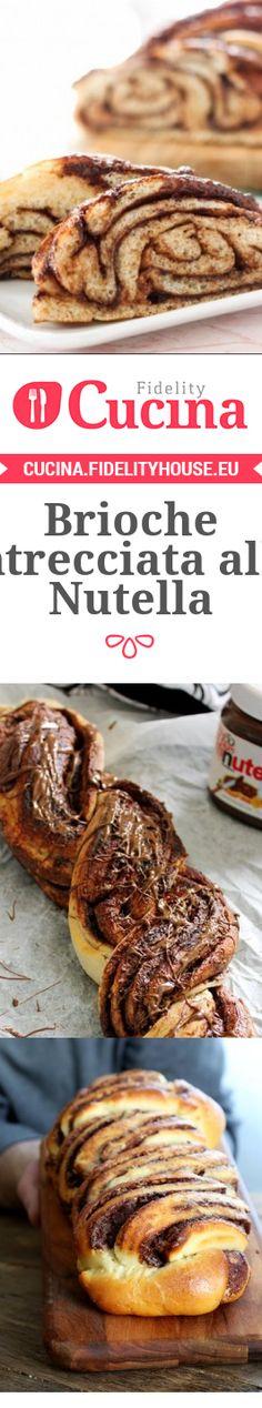 Brioche intrecciata alla Nutella