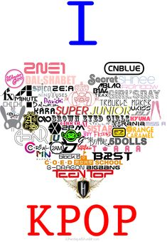 I love kpop. Collection of kpop bands. <3