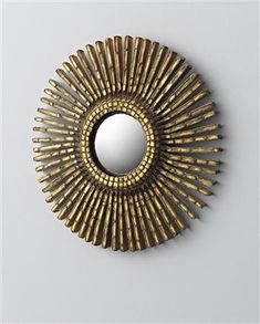 Line Vautrin, 'Baguettes' Mirror, 1960.