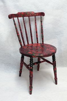 Decoupage Furniture | Beaujolais cahir