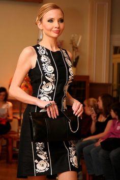 Casual dress, Hungarian motives