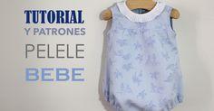 DIY, patrones, ropa de bebe y mucho más para coser.: DIY Tutorial y patrones gratis: Pelele para bebé