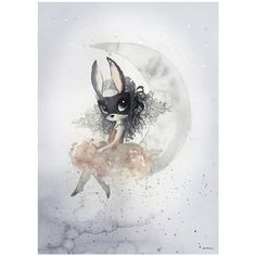 Miss Alice Limited Edition Print by Mrs Mighetto – Junior Edition