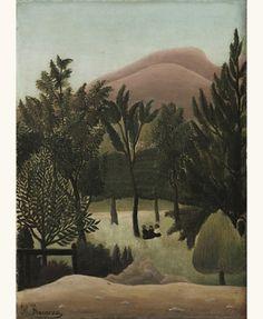 Landscape, 1905-10 – Henri Rousseau (1844–1910)