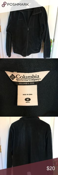 Columbia jacket NWOT dark navy super warm fleece jacket. A must have for any winter wardrobe. Columbia Jackets & Coats