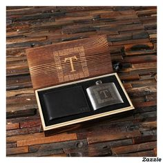 Personalized Leather Wallet with Stainless Steel Hip Pocket Flask Engraved Groomsmen Gift Wood Anniversary Gift Personalized Leather Wallet, Personalized Gifts For Men, Engraved Gifts, Best Groomsmen Gifts, Groomsman Gifts, Full Grain Leather Wallet, Wood Anniversary Gift, Brown Wallet, Best Gifts For Men