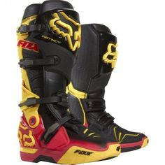 Fox Racing Instinct Reed Replica Men's Boots these are some pretty sweet riding boots:)