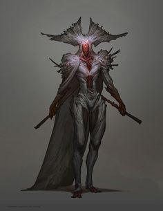 Guild Wars 2- Diarmid, Adryn and Hareth, Carlyn Lim on ArtStation at…