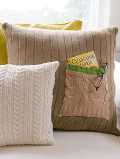 Free Throw Pillow Patterns at WomansDay.com - DIY Decor - Woman's Day
