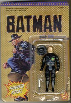 toy biz action figures | Batman Action Figure (1989 Toy Biz) comic books