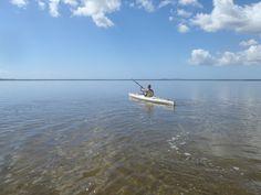 Paddling from Elanda Point to Kinaba. #kayaking #NoosaEverglades #Australia #Noosa
