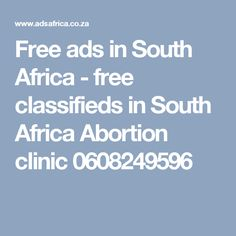 Free ads in South Africa - free classifieds in South Africa Abortion clinic 0608249596 Real Magic Spells, Lost Love Spells, Powerful Love Spells, Bring Back Lost Lover, Love Spell Caster, Current Job, Free Ads, Back On Track, Ex Husbands