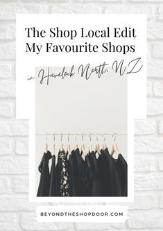 Shop Local Edit - My Favourite Shops in Havelock North. With COVID-19 wreaking havoc on local economies, shopping local has become more important than ever. #shoplocal #shoplocalnewzealnd Fashion Coffee Table Books, Havelock North, Beautiful Cover, Cool Cafe, Black And White Design, Shop Local, Thing 1 Thing 2, New Zealand, Cool Style