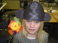 T's First Grade Class: Treasure Hunt Pirate Parrot, Pirate Tattoo, Pirate Crafts, Clothes Pegs, First Grade, Pirates, Crafts For Kids, Maps, Classroom