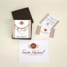 Jewelry Packaging Businesscard Susanharbourtdesigns S Diy Handmade