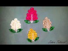 Kerajinan Tangan Bros Bunga Dari Pita Satin