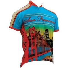 Canari Cyclewear Mens San Francisco Jersey XXLarge Multi >>> You can get additional details at the image link.Note:It is affiliate link to Amazon. #igdaily