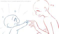 (17) #트레틀 - Recherche sur Twitter / Twitter Drawing Body Poses, Body Reference Drawing, Drawing Reference Poses, Hand Reference, Anime Drawings Sketches, Anime Sketch, Cute Drawings, Manga Poses, Drawing Templates