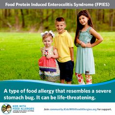 """FPIES is Food Protein-Induced Enterocolitis Syndrome. It is commonly pronounced """"F-Pies"""", as in """"apple pies"""", though some physicians may refer to it as FIES (pronounced """"fees"""", considering food-protein as one word). Types Of Food Allergies, Egg Allergy, Allergy Free, Doctor For Kids, Inflammatory Arthritis, Sick Baby, Food Challenge, Body Organs, Baby Food Recipes"""