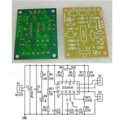 DIY ICL8038 Function Signal Generator Module Sine Square Triangle Wave Output KIT Sale - Banggood.com