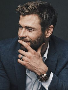 If you want hairstyles like Hemsworth then here we have collected a large number of hairstyles to choose from. There are various types of Chris Hemsworth haircuts available. Chris Hemsworth Thor, Chris Pine, Cartier Tank, Chris Pratt, Chris Evans, Catherine Deneuve, Vintage Rolex, Men's Vintage, Vintage Watches