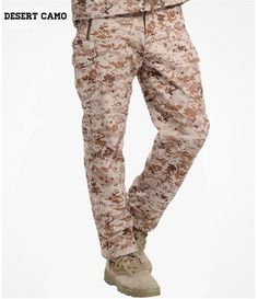 d46c76fe268b Shark Skin Softshell Outdoors Tactical Military Camouflage Pants Men Winter  Army Waterproof Thermal Camo Hunt Hike