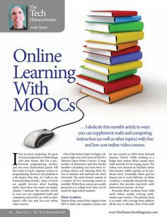 Online Learning with MOOCs The Homeschool Magazine - May 2013 - Page 64-65