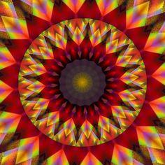 imaginez ! imaginar !! dream up !!! Mandala de Pierre Vermersch Digital Drawings
