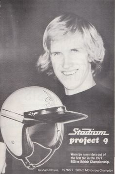 1976-77 British 500cc MX Champion Graham Noyce
